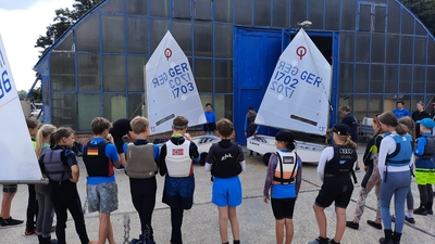 Bootstaufe: Zwei neue Optis für unsere Jugendgruppe